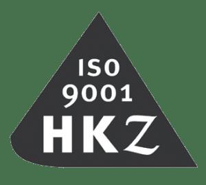 HKZ ISO 9001 gecertificeerd logo